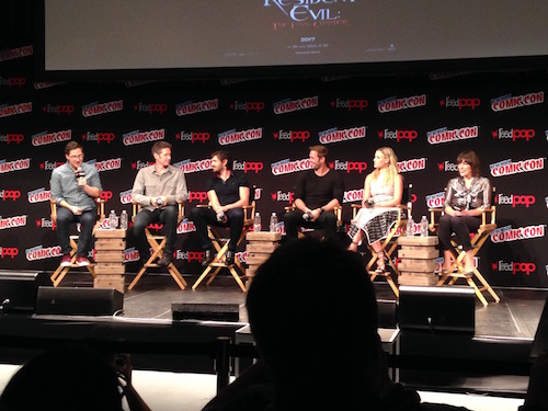 Resident Evil: The Final Chapter Panel NYCC 2016