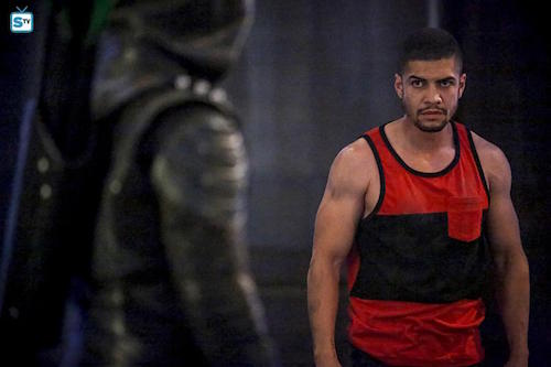 Rick Gonzalez The Recruits Arrow