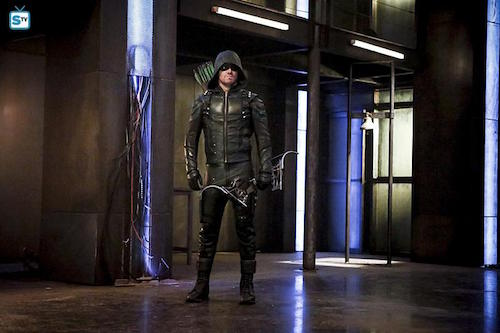 Stephen Amell The Recruits Arrow