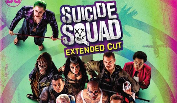 Suicide Squad Extended Cut Blu-ray Cover