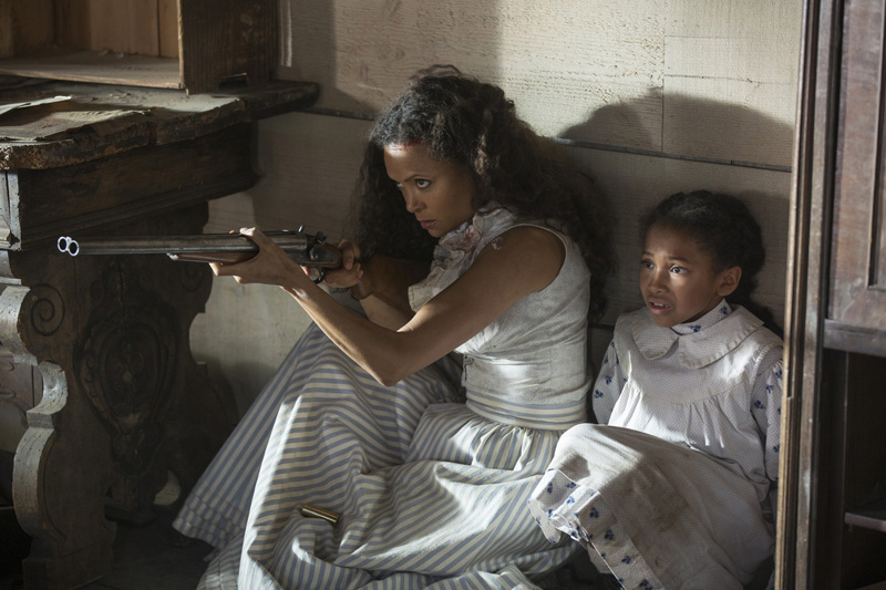 Thandie Newton Westworld Chestnut