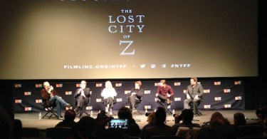 The Lost City of Z Panel NYFF 2016