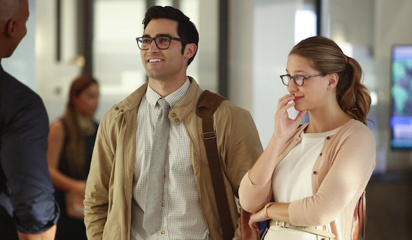 Tyler Hoechlin Melissa Benoist The Adventures of Supergirl