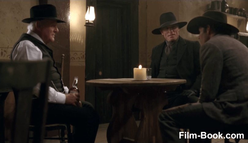 Anthony Hopkins Ed Harris James Marsden Westworld Contrapasso