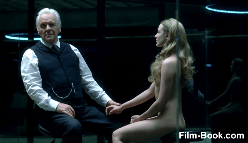 Anthony Hopkins Evan Rachel Wood Naked Westworld Contrapasso
