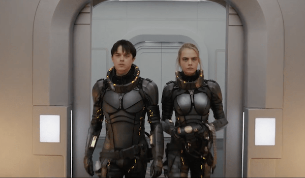 Dane DeHaan Cara Delevingne Valerian and the City of a Thousand Planets Trailer
