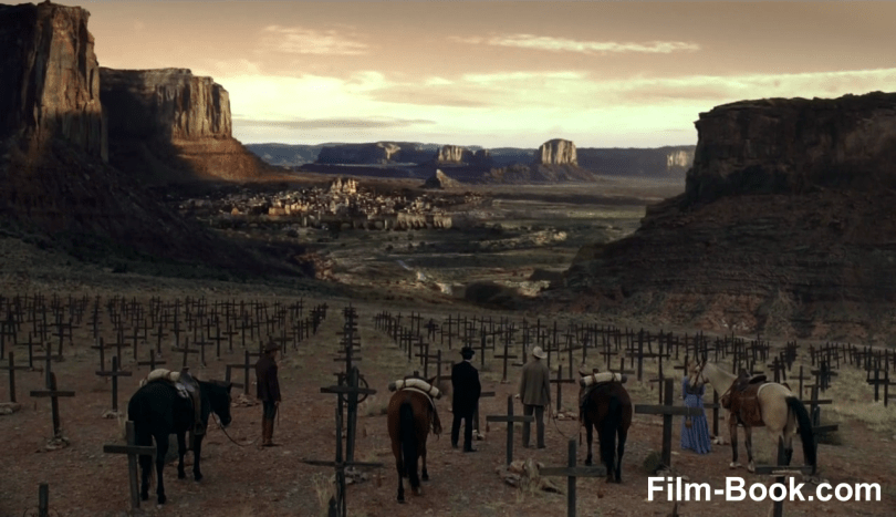 Evan Rachel Wood Jimmi Simpson Ben Barnes Pariah Graveyard Westworld Contrapasso