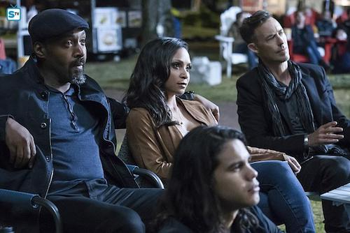 Jesse L. Martin Danielle Nicolet Tom Cavanagh Shade The Flash