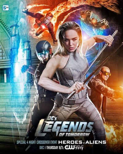 Legends of Tomorrow Crossover Poster