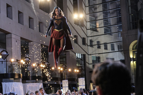 Melissa Benoist Crossfire Supergirl
