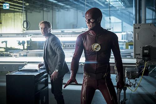 Tom Felton Grant Gustin Killer Frost The Flash