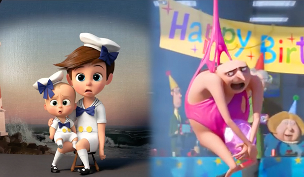 The Boss Baby & Despicable Me 3