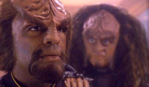 Michael Dorn Robert O Reilly Star Trek Deep Space Nine