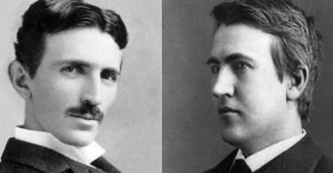 Nikola Tesla Thomas Edison