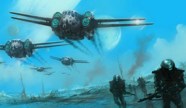The Forever War Concept Art