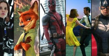 2016 Movie Collage