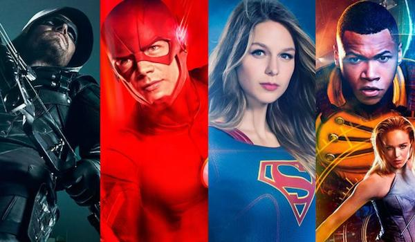 Arrow The Flash Supergirl Legends of Tomorrow TV Show Posters