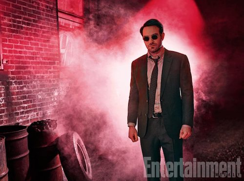 Charlie Cox The Defenders EW Shoot