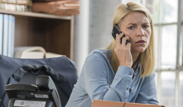Claire Danes Homeland The Man in the Basement