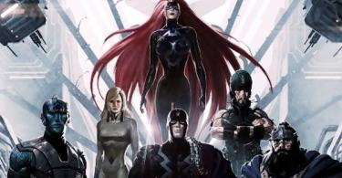 Inhumans Comic Book Cover