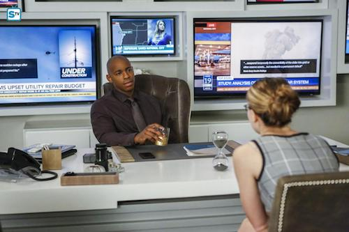 Mehcad Brooks Melissa Benoist We Can Be Heroes Supergirl