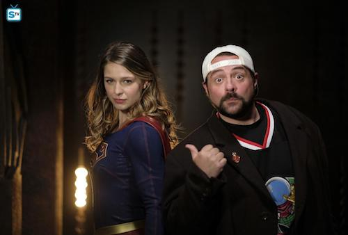Melissa Benoist Kevin Smith Supergirl Lives Supergirl