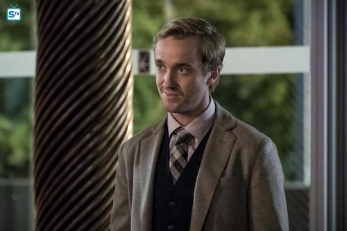 Tom Felton Borrowing Problems From The Future The Flash