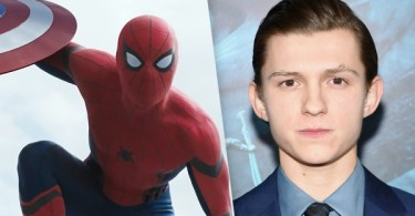 Tom Holland Captain America Civil War
