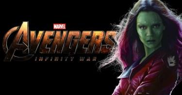 Zoe Saldana Avengers Infinity War