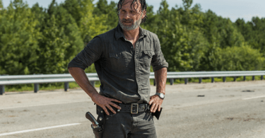 Andrew Lincoln The Walking Dead A Rock in the Road