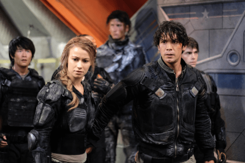 Bob Morley Chelsey Reist Christopher Larkin The 100 Heavy Lies the Crown