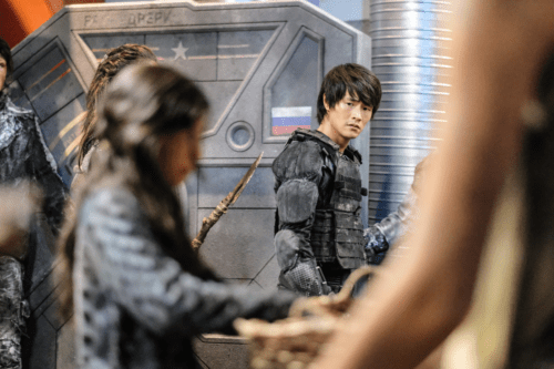 Christopher Larkin The 100 Heavy Lies the Crown