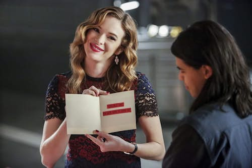 Danielle Panabaker Carlos Valdés Attack on Central City The Flash
