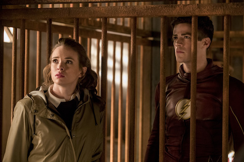 Danielle Panabaker Grant Gustin Attack on Gorilla City The Flash