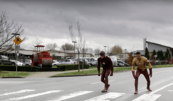 Grant Gustin Keiynan Lonsdale Untouchable The Flash Trailer