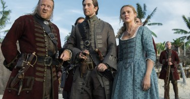 Hannah New Luke Roberts Chris Larkin Black Sails XXX