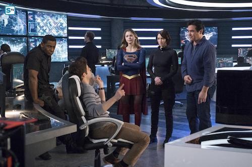 Jeremy Jordan David Harewood Melissa Benoist Chyler Leigh Dean Cain Homecoming Supergirl