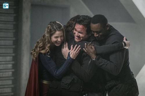 Melissa Benoist Chyler Leigh Dean Cain David Harewood Homecoming Supergirl