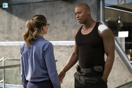 Melissa Benoist Mehcad Brooks Luthors Supergirl