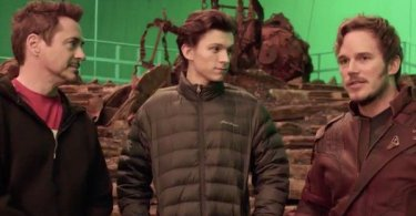 Robert Downey Jr. Tom Holland Chris Pratt Avengers: Infinity War