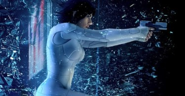 Scarlett Johansson Ghost in the Shell IMAX Poster