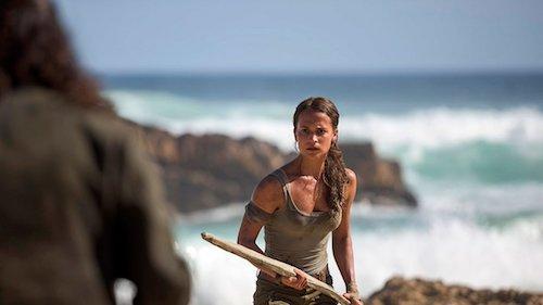 Alicia Vikander Tomb Raider First Look