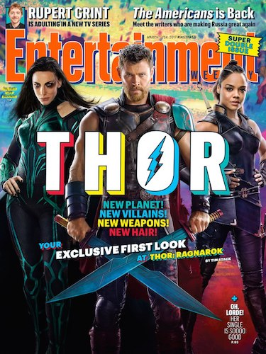 Cate Blanchett Chris Hemsworth Tessa Thompson Thor: Ragnarok
