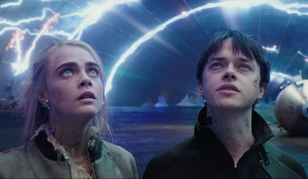 Dane DeHaan Cara Delevingne Valerian and the City of a Thousand Planets