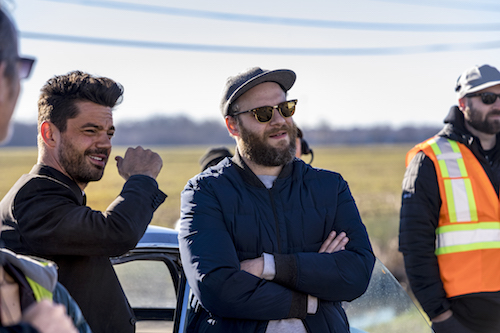 Dominic Cooper Seth Rogen Preacher Season Two