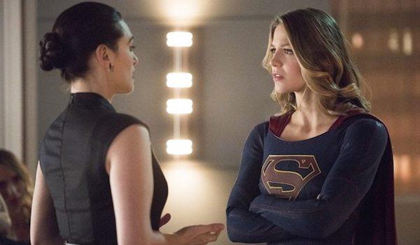 Katie McGrath Melissa Benoist Exodus Supergirl
