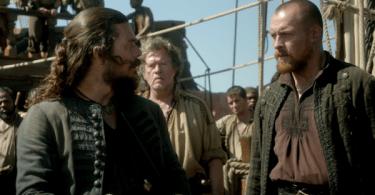 Luke Arnold Toby Stephens Black Sails XXXVI