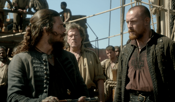 Luke Arnold Toby Stephens Black Sails XXXVI