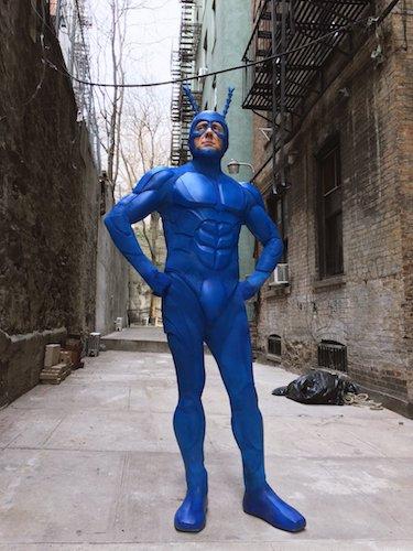 Peter Serafinowicz The Tick Costume