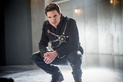 Robbie Amell Into the Speed Force The Flash